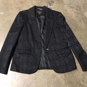 Dana Bachman jacket.  Size 12.  Black.